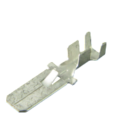 805701BL2 Uninsulated Male Spade Terminal