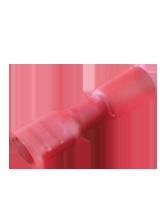 CTWP16 Red Female Spade Heatshrink Terminal 6.3mm Spade Width