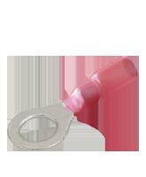 CTWP04 Red Heatshrink 6mm Ring Terminal