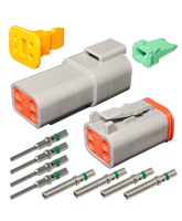 DT4 Deutsch 4 Pin DT Series Complete Connector Kit