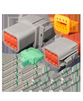 DT8 Deutsch 8 Pin DT Series Complete Connector Kit