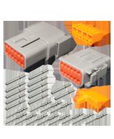 DT12M Deutsch 12 Pin Mini DTM Series Complete Connector Kit