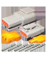 DT3M Deutsch 3 Pin Mini DTM Series Complete Connector Kit