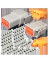 DT8M Deutsch 8 Pin Mini DTM Series Complete Connector Kit