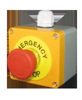 QVTMS02M Metal Emergency Stop Switch