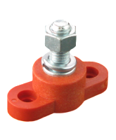 JB3816RD 250A Single Insulated Terminal Stud – Red