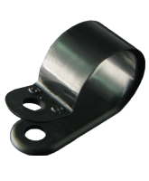 "NP15B 15mm Nylon ""P"" Clip – 4.6mm Mounting hole"