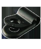 "NP3.1SB 3.1mm Nylon ""P"" Clip – 4.6mm Mounting hole"