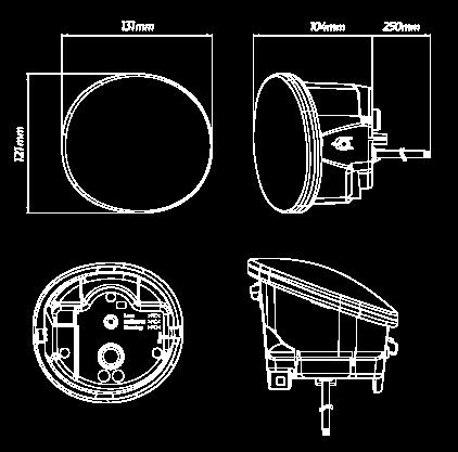 QVFLARBS_LED_Foglight_Dimensions