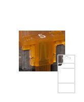 QVLPM5BL 5 Amp Low Profile Mini Blade Fuse