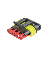 QV282088-1 Superseal 4 Circuit Male Housing