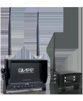 QVCMN7W 7″ Wireless Reverse Camera Kit