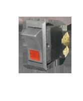 SR23103R SPST Off/On Rocker Switch – Red