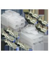 QVC4BL 4 Pin QK Reverse Type Connector Kit