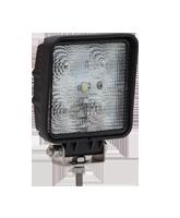 QVWL15WS 15w High Powered Square LED Worklamp – Flood Beam