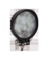 QVWL18WR 18w High Powered Round LED Worklamp – Flood Beam