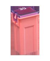 QVJTF030 30A Mini Female Plug-In Fusible Link