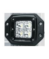 QVWL20SM 20w High Powered Flush Mount LED Worklamp – Spot Beam