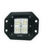 QVWL20FM 20w Flush Mount High Powered LED Worklamp – Flood Beam
