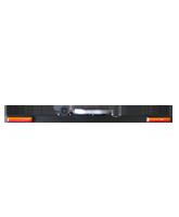 RHBAR1250-NT11 Black Alloy Mine Bar with Slimline Beacon & Front Facing Indicators
