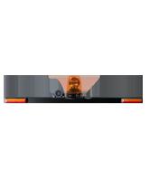 RHBAR1250C5 Black Alloy Mine Bar