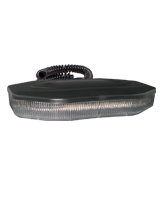 QVRB250M Magnetic Mount Heavy Duty Amber Slimline LED Emergency Beacon