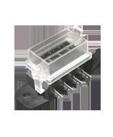 FB1904 4 Way Mini Blade Fuse Box